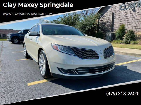 2014 Lincoln MKS for sale at Clay Maxey Springdale in Springdale AR