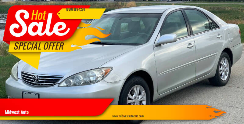 2006 Toyota Camry for sale at Midwest Auto in Naperville IL