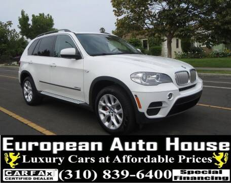 2013 BMW X5 for sale at European Auto House in Los Angeles CA