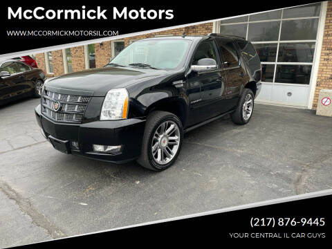 2014 Cadillac Escalade for sale at McCormick Motors in Decatur IL