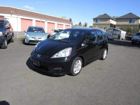 2011 Honda Fit for sale at ARISTA CAR COMPANY LLC in Portland OR