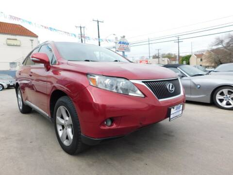 2011 Lexus RX 350 for sale at AMD AUTO in San Antonio TX
