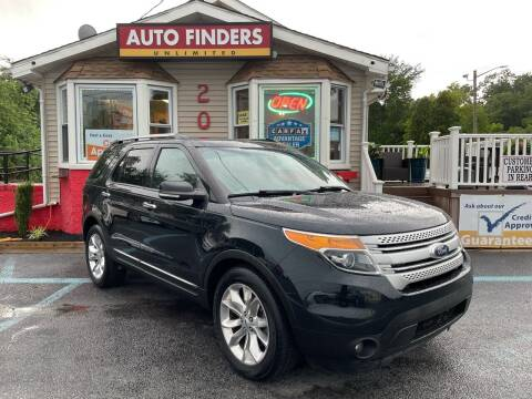 2015 Ford Explorer for sale at Auto Finders Unlimited LLC in Vineland NJ
