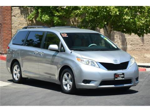 2012 Toyota Sienna for sale at A-1 Auto Wholesale in Sacramento CA