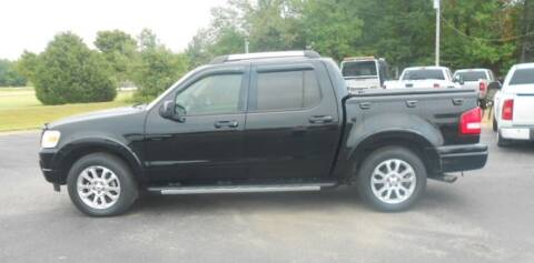 2007 Ford Explorer Sport Trac for sale at KNOBEL AUTO SALES, LLC in Brookland AR