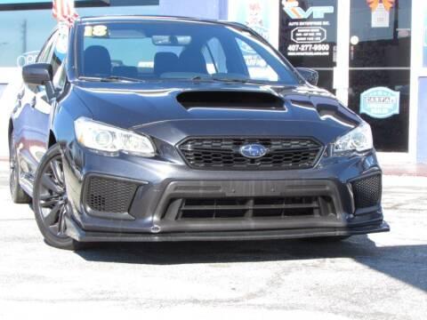 2018 Subaru WRX for sale at VIP AUTO ENTERPRISE INC. in Orlando FL