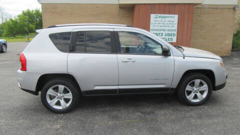 2011 Jeep Compass for sale at LENTZ USED VEHICLES INC in Waldo WI