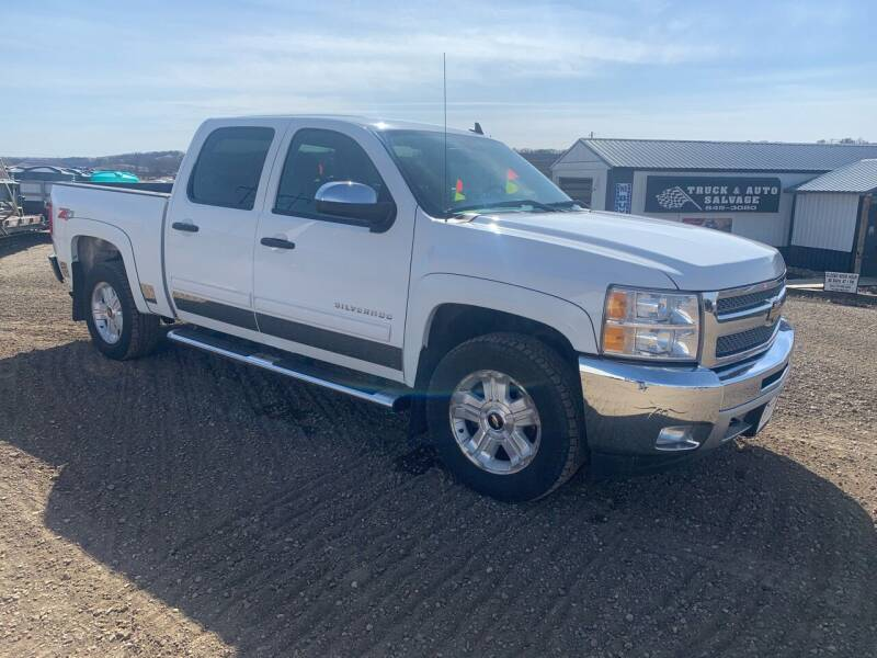2012 Chevrolet Silverado 1500 for sale at TRUCK & AUTO SALVAGE in Valley City ND