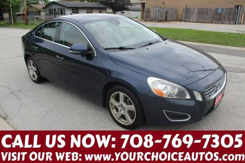 2013 Volvo S60 for sale at Your Choice Autos in Posen IL
