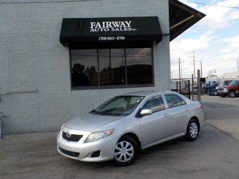 2010 Toyota Corolla for sale at FAIRWAY AUTO SALES, INC. in Melrose Park IL