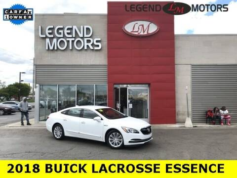 2018 Buick LaCrosse for sale at Legend Motors of Detroit - Legend Motors of Ferndale in Ferndale MI