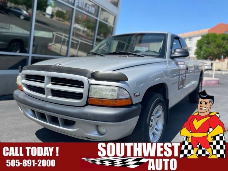 2001 Dodge Dakota for sale at SOUTHWEST AUTO in Albuquerque NM