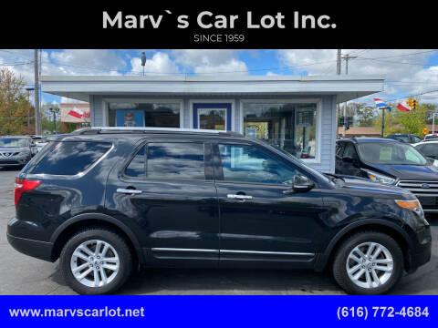 2015 Ford Explorer for sale at Marv`s Car Lot Inc. in Zeeland MI