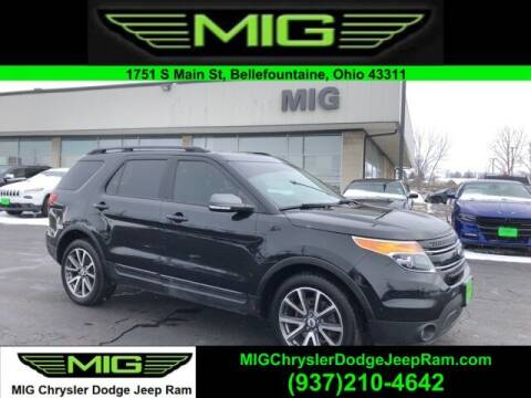 2015 Ford Explorer for sale at MIG Chrysler Dodge Jeep Ram in Bellefontaine OH