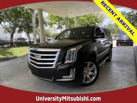 2018 Cadillac Escalade for sale at University Mitsubishi in Davie FL