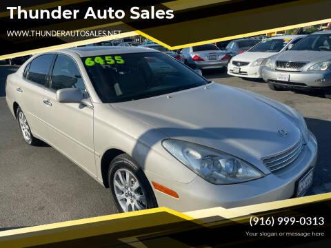 2002 Lexus ES 300 for sale at Thunder Auto Sales in Sacramento CA