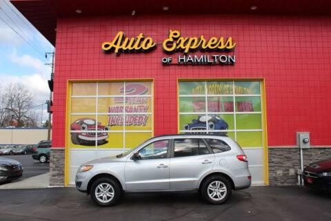 2010 Hyundai Santa Fe for sale at AUTO EXPRESS OF HAMILTON LLC in Hamilton OH