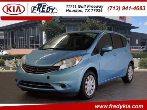 2015 Nissan Versa Note for sale at FREDYS CARS FOR LESS in Houston TX