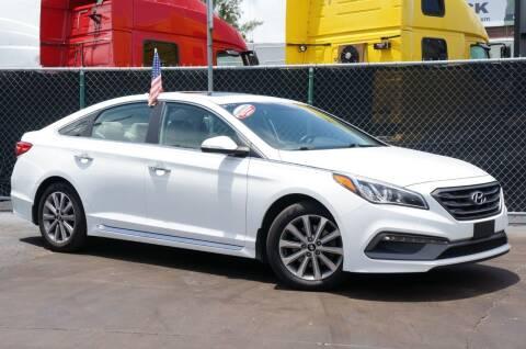 2016 Hyundai Sonata for sale at MATRIX AUTO SALES INC in Miami FL