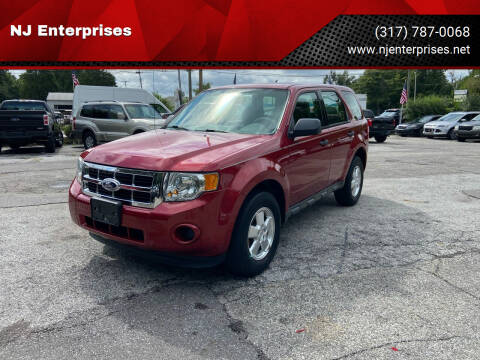 2012 Ford Escape for sale at NJ Enterprises in Indianapolis IN