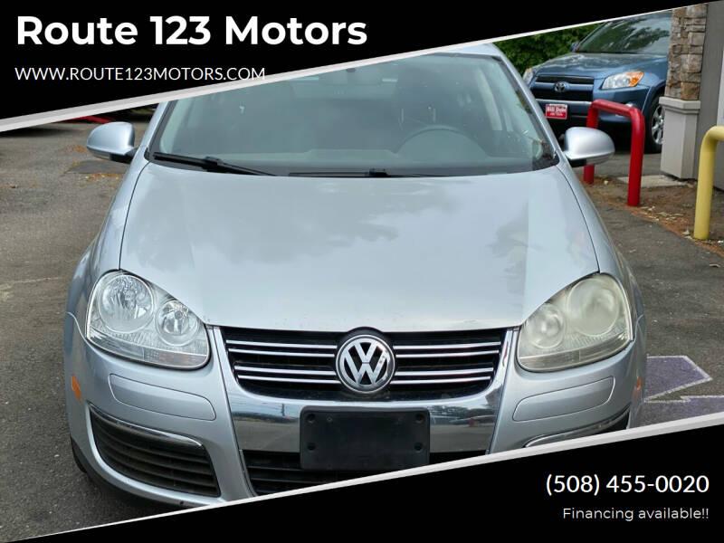 2008 Volkswagen Jetta for sale at Route 123 Motors in Norton MA