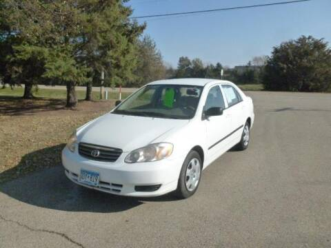 2004 Toyota Corolla for sale at HUDSON AUTO MART LLC in Hudson WI