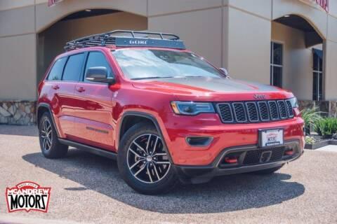2017 Jeep Grand Cherokee for sale at Mcandrew Motors in Arlington TX