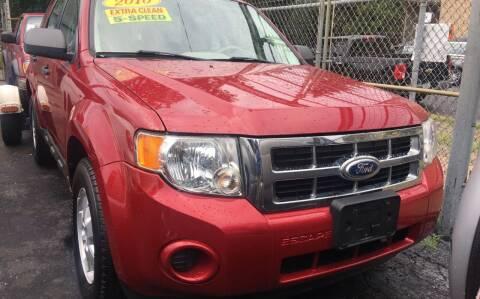 2010 Ford Escape for sale at Jeff Auto Sales INC in Chicago IL