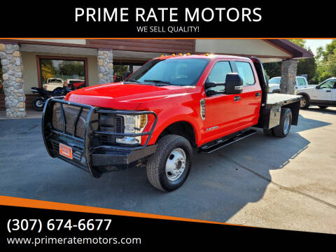 2019 Ford F-350 Super Duty for sale at PRIME RATE MOTORS in Sheridan WY