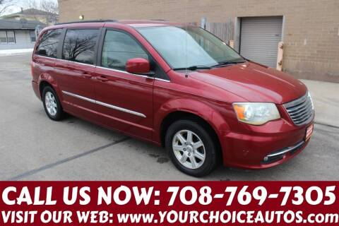 2011 Chrysler Town and Country for sale at Your Choice Autos in Posen IL