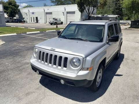 2012 Jeep Patriot for sale at Best Price Car Dealer in Hallandale Beach FL