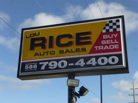 2012 GMC Sierra 1500 for sale at Lou Rice Auto Sales in Clinton Township MI