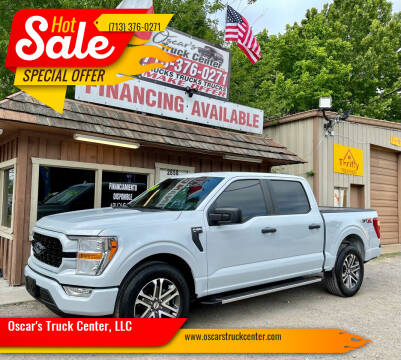 2021 Ford F-150 for sale at Oscar's Truck Center, LLC in Houston TX