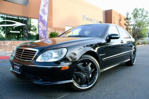 2005 Mercedes-Benz S-Class for sale at CK Motors in Murrieta CA