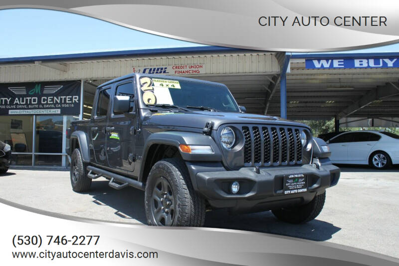 2020 Jeep Gladiator for sale at City Auto Center in Davis CA