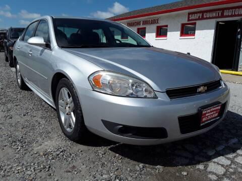 2011 Chevrolet Impala for sale at Sarpy County Motors in Springfield NE