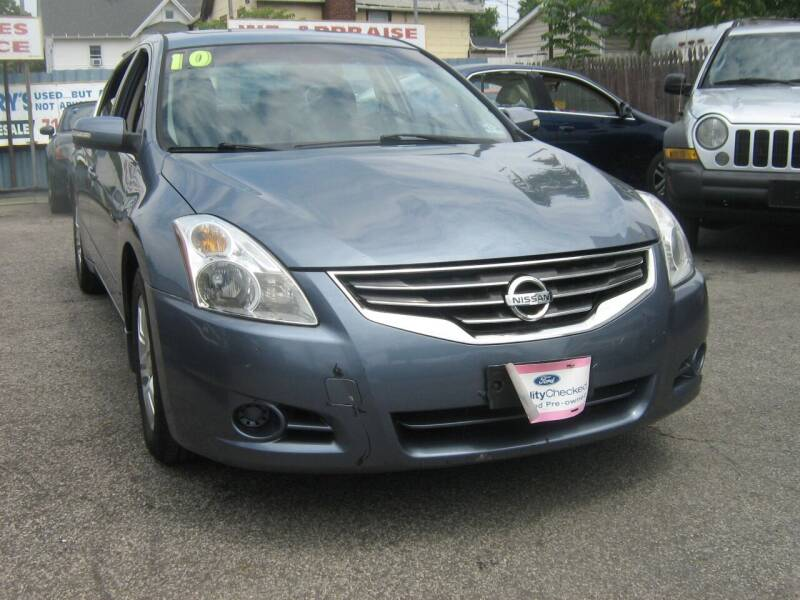2010 Nissan Altima for sale at JERRY'S AUTO SALES in Staten Island NY