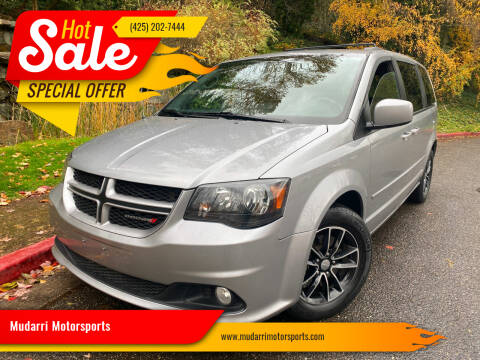 2017 Dodge Grand Caravan for sale at Mudarri Motorsports in Kirkland WA