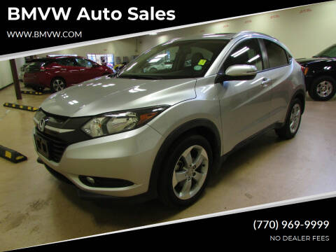 2016 Honda HR-V for sale at BMVW Auto Sales in Union City GA