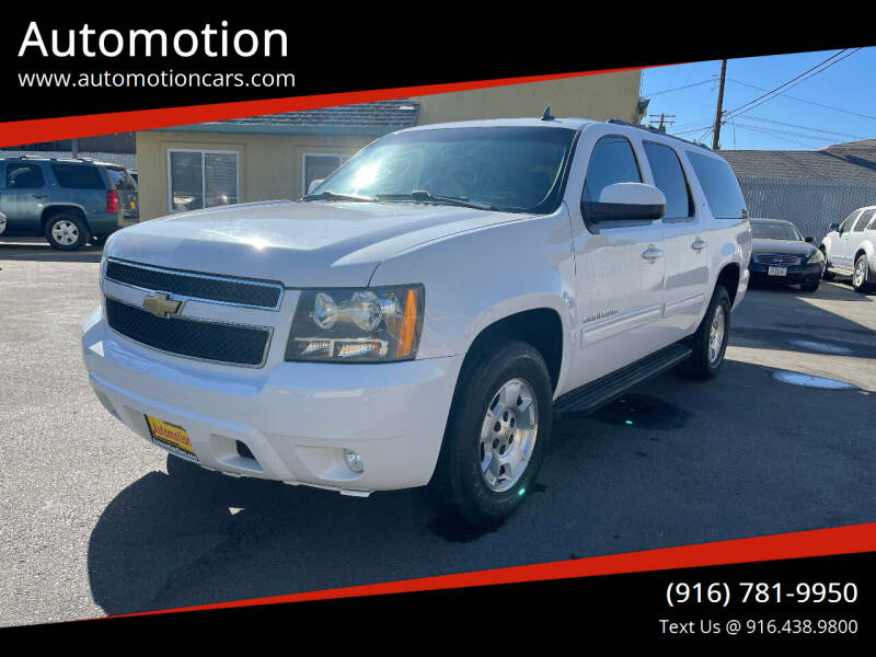2013 Chevrolet Suburban for sale at Automotion in Roseville CA