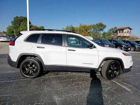 2017 Jeep Cherokee for sale at Hawk Chevrolet of Bridgeview in Bridgeview IL