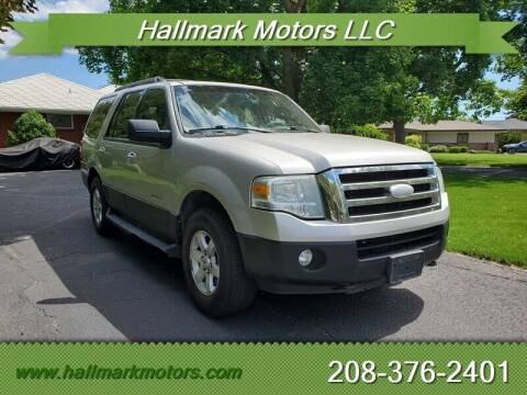 2007 Ford Expedition for sale at HALLMARK MOTORS LLC in Boise ID