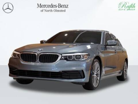 2019 BMW 5 Series for sale at Mercedes-Benz of North Olmsted in North Olmstead OH