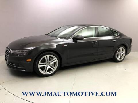 2017 Audi A7 for sale at J & M Automotive in Naugatuck CT