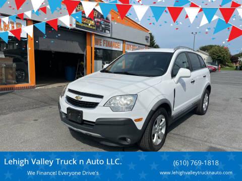 2014 Chevrolet Captiva Sport for sale at Lehigh Valley Truck n Auto LLC. in Schnecksville PA