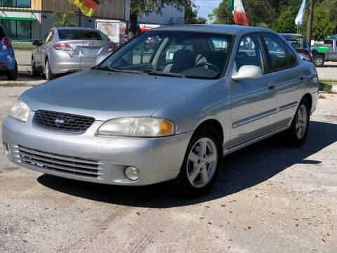2002 Nissan Sentra for sale at Pro Cars Of Sarasota Inc in Sarasota FL