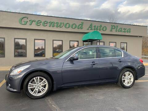 2013 Infiniti G37 Sedan for sale at Greenwood Auto Plaza in Greenwood MO