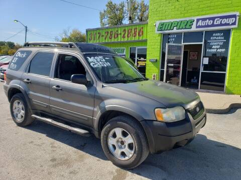 2003 Ford Escape for sale at Empire Auto Group in Indianapolis IN