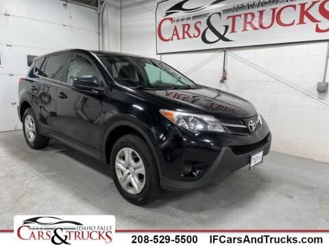 2015 Toyota RAV4 for sale at Idaho Falls Cars and Trucks in Idaho Falls ID