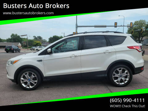 2013 Ford Escape for sale at Busters Auto Brokers in Mitchell SD